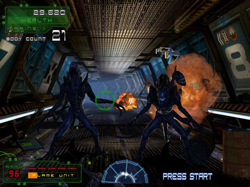 Aliens Extermination Screenshot