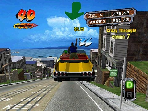 Crazy Taxi: High Roller Screenshot