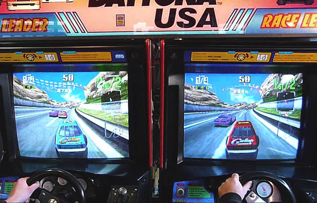 Daytona USA Twin Cabinet