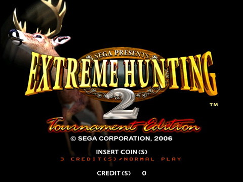 Extreme Hunting 2: Tournament Edition - Title Screen
