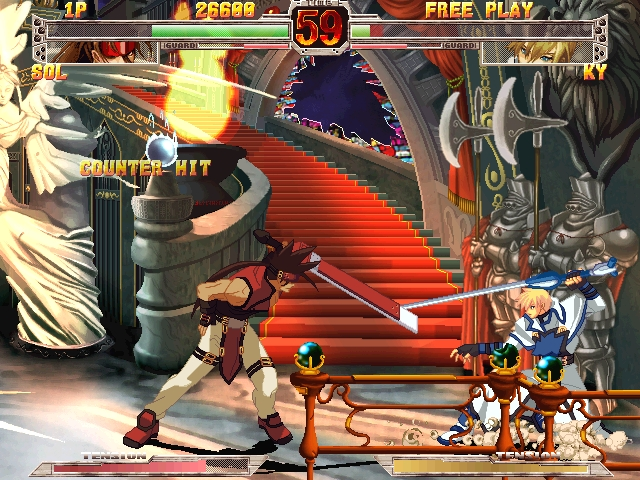 Guilty Gear X - Screenshot