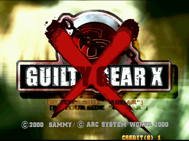 Guilty Gear X Title