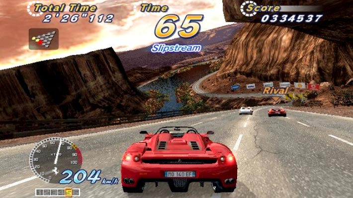 OutRun 2012 / OutRun2 SP Screenshot