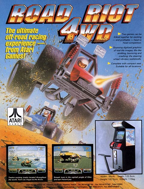 Atari Road Riot 4WD Flyer