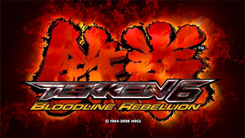 VTekken 6: Bloodline Rebellion Title