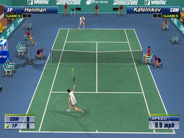 Virtua Tennis 2 Screenshot