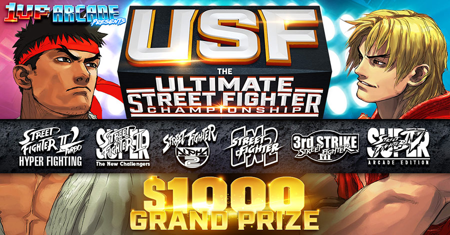 1UP Arcade Presents: The Ultimate Street Fighter Championship